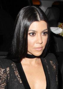 Model kourtney kardashian